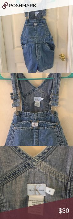 90s style Calvin Klein overalls Great condition all hardware intact. Calvin Klein Jeans Other