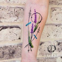 Lavender branches by Koray Karagozler