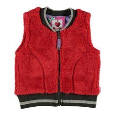 Bomba Bodywarmer  Winter collectie 2015   www.kleertjes.com #kinderkleding #babykleding #kids #fashion #fake #fur #trends #nepbont #imitatiebont