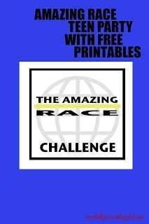 seeshellspace: It was an Amazing Race! (Teen Birthday Party)                                                                                                                                                                                 More