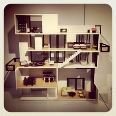 urban modern doll house.