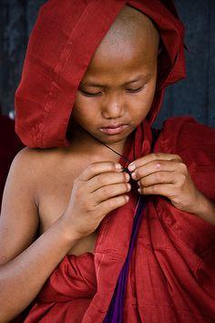 Precious Young Monk --- (by Zalacain, via Flickr)