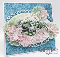 Heartfelt Creations | Pink Vellum Water Lilies