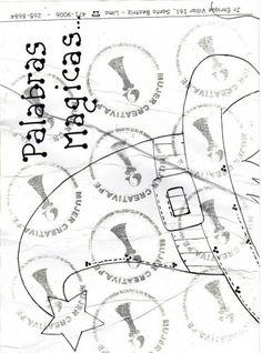 Cartel para decoracion de aula   Palabras magicas
