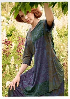 """""""Klematis"""" viscose tunic – Blouses & waistcoats – GUDRUN SJÖDÉN – Webshop, mail order and boutiques 