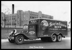 Old Time Erie: 1938 Steinhaus Beer Truck