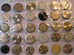 30 Vintage Wrist Watch Dials Faces Steampunk by HandzofTime, £11.95