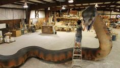 JZG Unveils Titanoboa Replica - the Largest Snake that Ever Lived