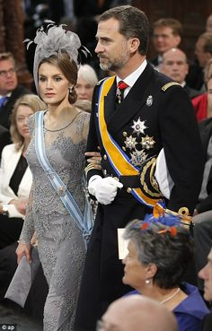 So what exactly does one wear to an inauguration? European royals give a masterclass in dressing for the occasion at ceremony for King Willem-Alexander   Mail Online