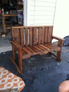 Pallet Wood Bench                                                                                                                                                     More