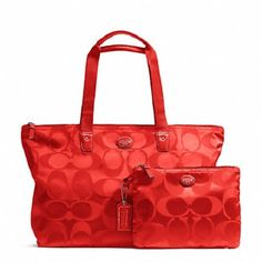 COACH Getaway Signature Packable Large W. Starting at $1