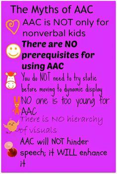 Kidz Learn Language: The Myths of AAC