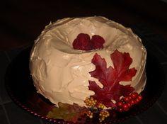 Autumn Pumpkin Raspberry Bundt Cake