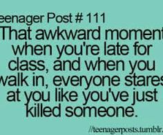 Omg this happens to me all the time!!