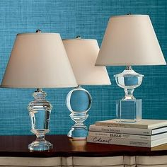 Williams-Sonoma Home Crystal Accent Lamps