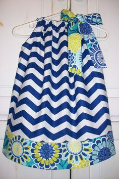 Pillowcase Dress CHEVRON and SASSARI Summer by lilsweetieboutique, $19.99