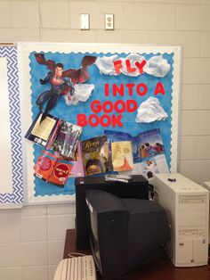 My Superhero Classroom! I'm a little proud of this one. Might be good for this summer's reading program theme.