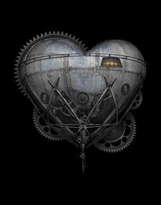 - The Heart of Invention by Brian Giberson - #Steampunk #Artwork #Steampunkheart #Steampunked  #Steampunkart http://www.pinterest.com/TheHitman14/art-steampunk-%2B/