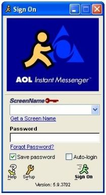 AIM, texting of the 90's