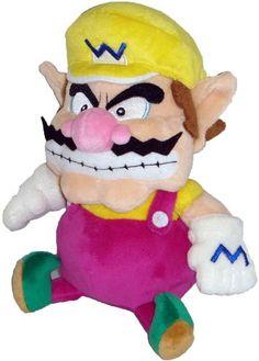 "Super Mario Plush - 7"" Wario Soft Stuffed Plush Toy Japanese Import (japan import)"