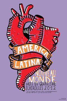 Galerie / 20 sur America Latina : Un nouveau monde / tapes: design culture visuelle Logo Del America, Club America, Latin America, Simple Illustration, Graphic Design Illustration, Latina Tattoo, Arte Latina, Ecole Art, Dream Book