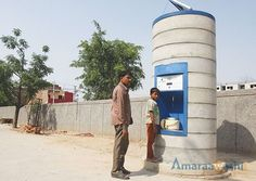 Water ATM's in Hyd, companies at risk!!