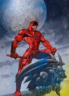 Daredevil by Simon Bisley