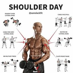 8 Best Shoulder Exercises. Seated or Standing Military Press. Arnold Press. Dumbbell Front Raise. Dumbbell Side Lateral Raise. Dumbbell Rear Lateral Raise. Barbell Rear Delt Row. Face Pull.