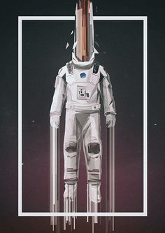 Interstellar #alternative #poster #movie #movieposter  by Martin Nabelek