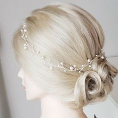 Wedding Hair Accessory, Bridal Hair Piece, Bridal Hair Vine, Pearl Headband, Bridal Tiara, Hair Wreath, Bridal Head Piece, Wedding Tiara Bridal Hair Flowers, Bridal Hair Vine, Bridal Tiara, Bridal Headpieces, Wedding Hair Clips, Wedding Hair Pieces, Flower Hair Accessories, Wedding Hair Accessories, Pearl Hair Pins