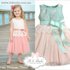 Our Lilly's have arrived :) get yours now . Perfect for Easter  http://www.b4bubs.com.au/girls-clothing/122-lilly-dress.html