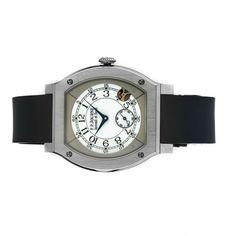 Pre-Owned F.P. Journe Elegante 48 (Elegante) quartz watch, features a 48mm titanium case