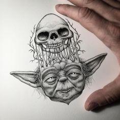 Lápis, papel e obras incríveis