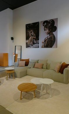Hay.  Mags Sofa & Hay Tables RR interior concepts -  Knokke