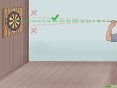 How to Throw Darts (with Pictures) - wikiHow Play Darts, Darts Game, Pictures, Photos, Grimm