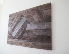 Recycled Wood Yard Art | my husband and i saw a similar design at urban outfitters in san ...