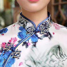 Cheongsam oriental silk dresses (2)            https://www.ichinesedress.com/