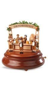Caixas de música eletrônica, Oktoberfest, Erzgebirge original por Mueller Seiffen