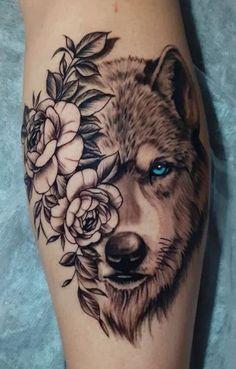 Wolf Tattoo Forearm, Hip Thigh Tattoos, Wolf Tattoo Sleeve, Dope Tattoos, Body Art Tattoos, Back Thigh Tattoo, Celtic Wolf Tattoo, Lone Wolf Tattoo, Howling Wolf Tattoo