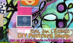DIY Postcard Swap 2014 at www.ihanna.nu/postcard-swap - join now! @Ann Potter !!!