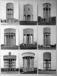 Water Towers 1988