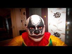 Killer Clown Face Paint