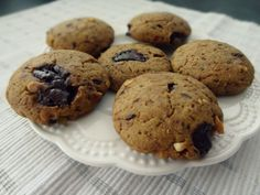 Pumpkin-peanut butter cookies with chocolate chips / Mamou-stylove.cz