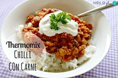 thermomix chilli con carne recipe 1