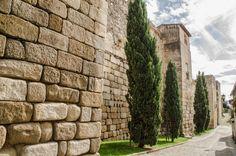 Muralla romana de Coria, Cáceres.
