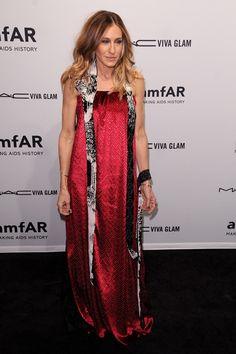 La gala amfAR reune a las famosas más fashion de la Semana de la Moda de  Nueva York. Chloe SevignySarah Jessica Parker LovelyAlexa ChungMaison Martin  ... ae535eaf8dc
