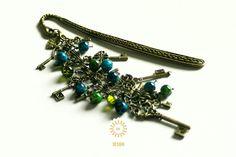 Metall - Blaubarts Schlüssel ♥ Märchen ● Lesezeichen - ein Designerstück von SchmettAlinchen bei DaWanda