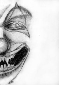 another clown drawing i did. this is a self portrait. i also used this for my artwork -Clown-Workshop- another clown drawing i did. this is a self portrait. i also used this for my artwork -Clown-Workshop-<br> Scary Clown Drawing, Scary Drawings, Joker Drawings, Horror Drawing, Trippy Drawings, Halloween Drawings, Dark Art Drawings, Creepy Art, Pencil Art Drawings