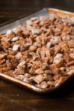 The best version of the famous churro chex snack mix http://ohsweetbasil.com