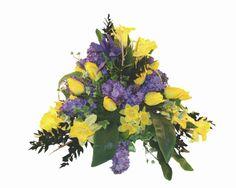 Splendoare 1 - Aranjament cu flori artificiale si plante naturale conservate
